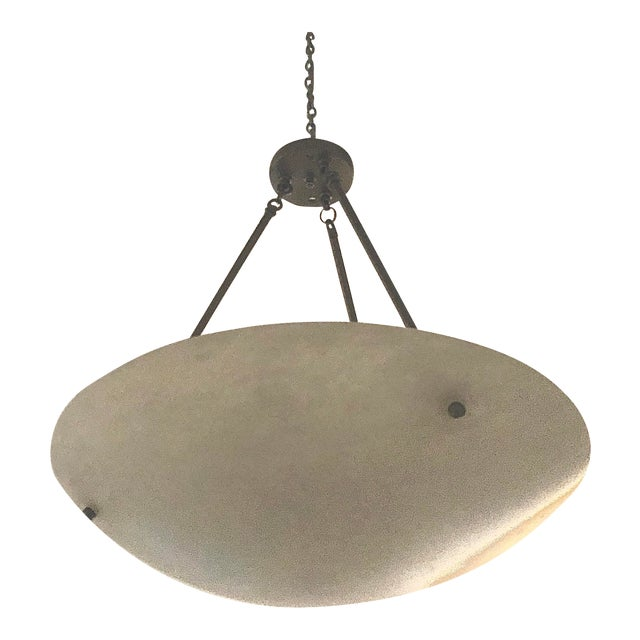 Contemporary Alabaster Pendant For Sale