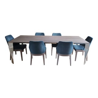 Molteni and Dada Modern Dining Set For Sale