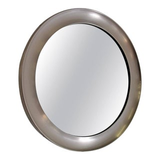 Mid Century Modern Mirror by Sergio Mazza for Artemide For Sale