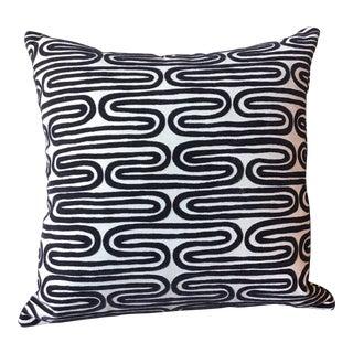 """Italian Velvet Fabric Pillow - 16"""" X 16"""" For Sale"""