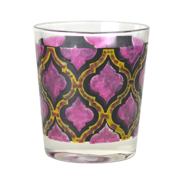 Vintage Harlequin Cocktail Glasses - A Pair - Image 2 of 4