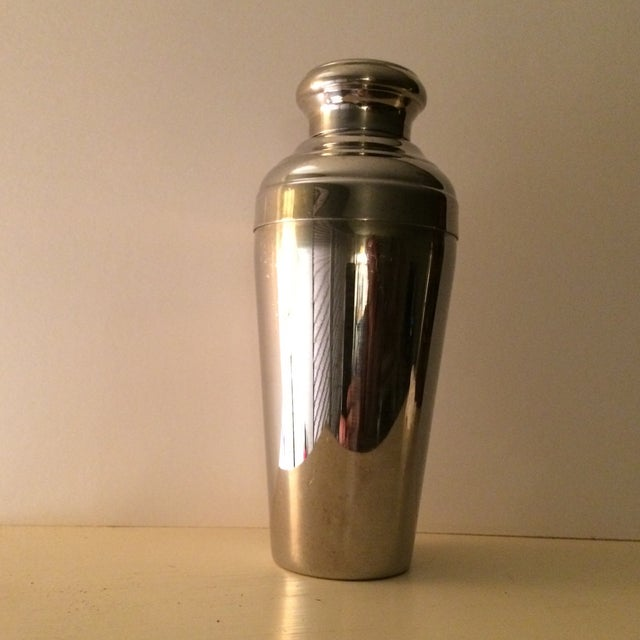 Vintage 22 Ounce Stainless Steel Cocktail Shaker - Image 2 of 11