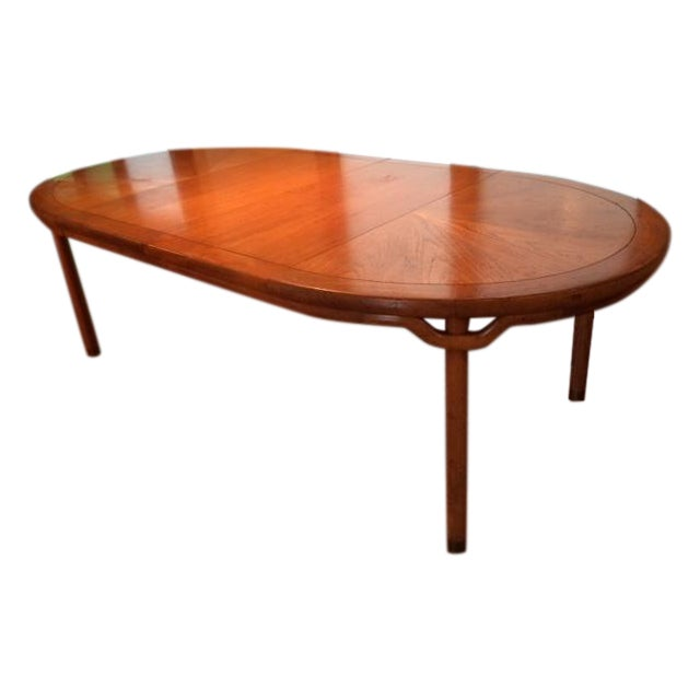 Baker Asian-Style Canadian Elm Table - Image 1 of 6