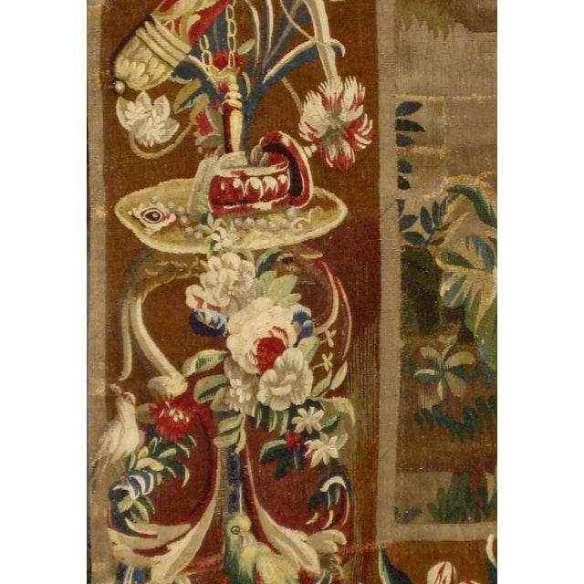 1700s Beauvais Tapestry Wall Hanging For Sale - Image 6 of 13