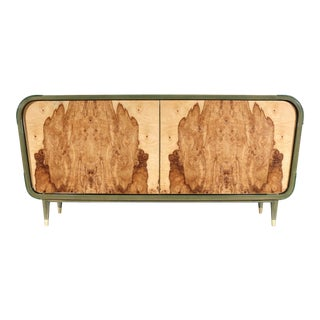 Art Deco Beechwood Elegance Sideboard For Sale