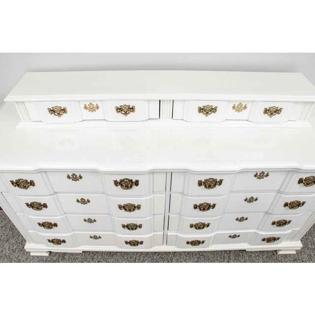 Wood 20th Century Superb Chippendale Pagoda Style Dresser For Sale - Image 7 of 11