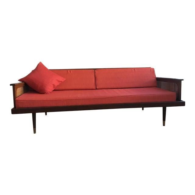Radio Weave Danish Modern Sofa - Image 1 of 5