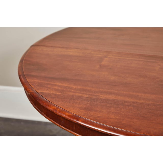 Late 19th Century French Pedestal Table For Sale - Image 9 of 10