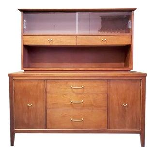 1960s Mid Century Scandinavian Display Cabinet For Sale