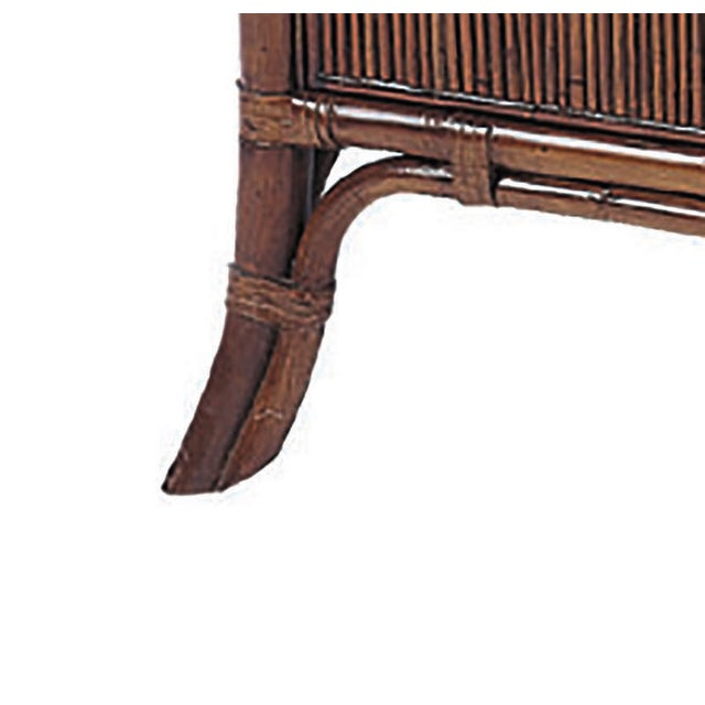 David Francis Furniture Swirl Cherry Top Nightstands- A Pair - Image 2 of 2