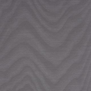 Sample - Schumacher Claridge Wallpaper in Silver For Sale