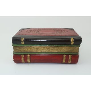 Vintage Borghese Italian Terracotta Faux Book Box Preview