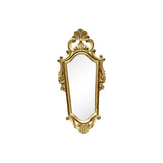 1920s French Gilded Wall Mirror For Sale
