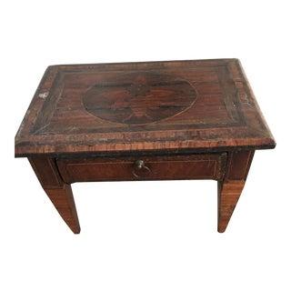Antique Miniature Salesman Sample Writing Desk For Sale