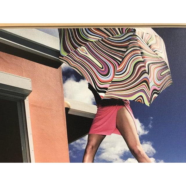 "Nicola Majocchi ""Umbrella With Legs"" Photograph 2003 St. John, v.i. For Sale - Image 4 of 6"