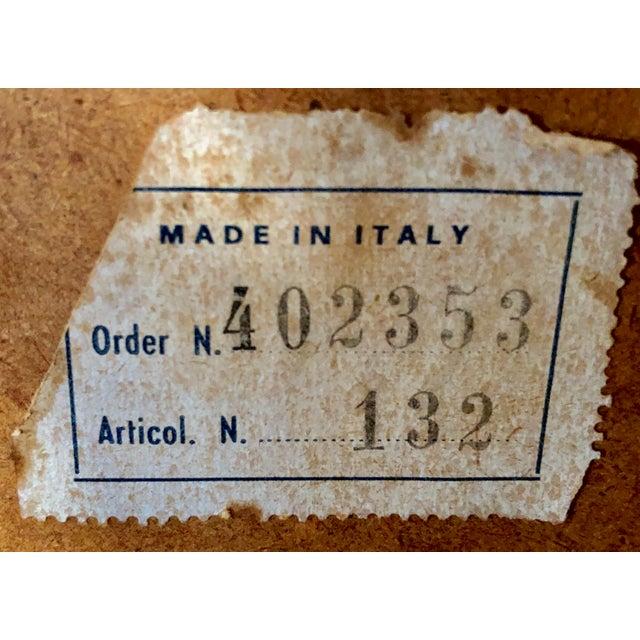 Hollywood Regency Italian Gilt Mirror For Sale - Image 3 of 4