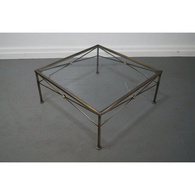 Design Institute of America Steel Coffee Table - Image 4 of 10