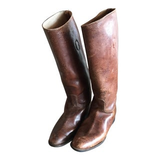 English Riding Boots - A Pair For Sale