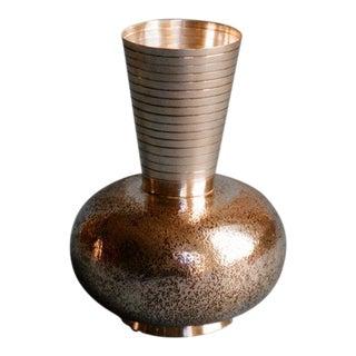 Eros Genazzi Silver Vase c. 1930s
