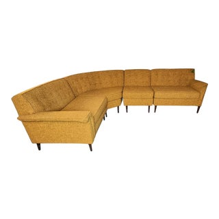 Mid Century Modular Sectional For Sale