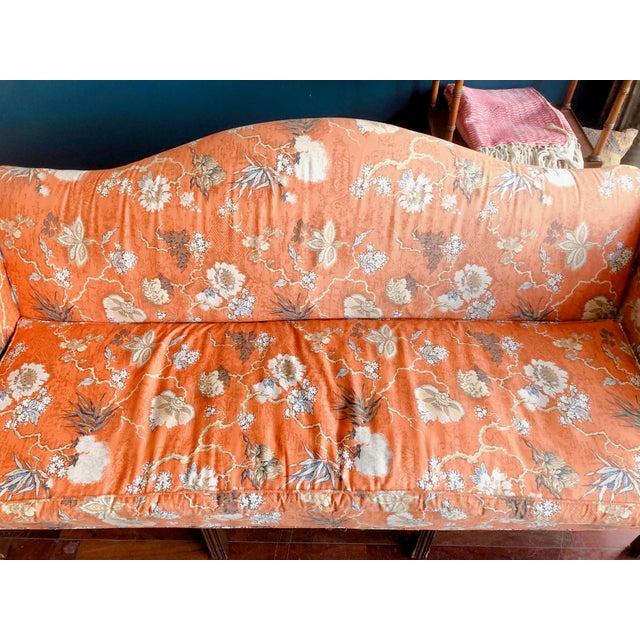 Vintage Baker Camelback Sofa For Sale - Image 11 of 12