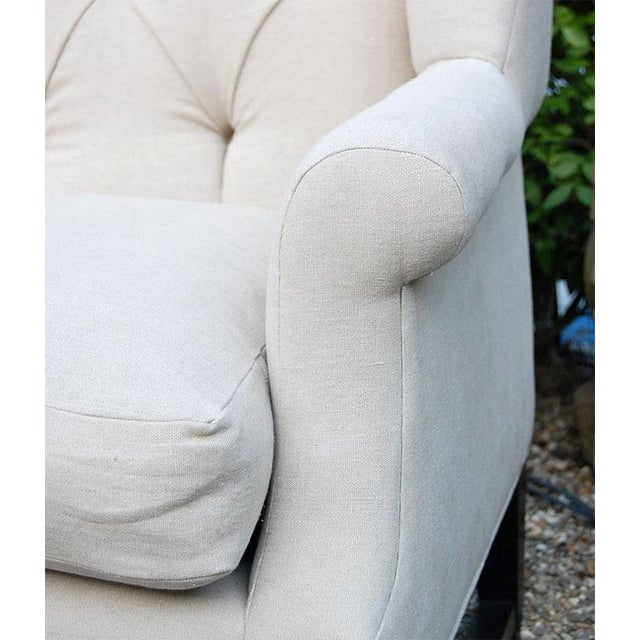 Wing Back Sofa For Sale In New York - Image 6 of 9