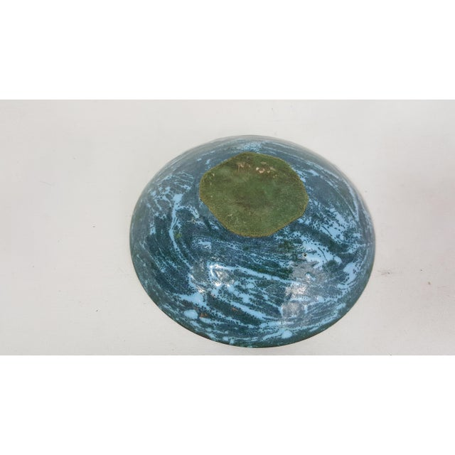 Mid-Century Copper and Enamel Bowl - Image 4 of 4