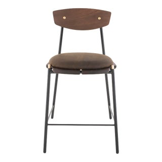 Kink Counter Stool In Smoked For Sale