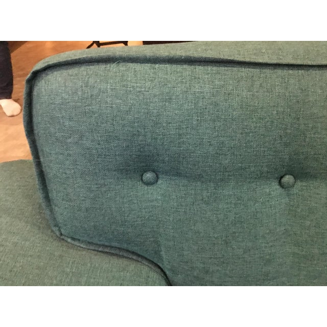 Mid Century Sectional Sofa For Sale - Image 4 of 10