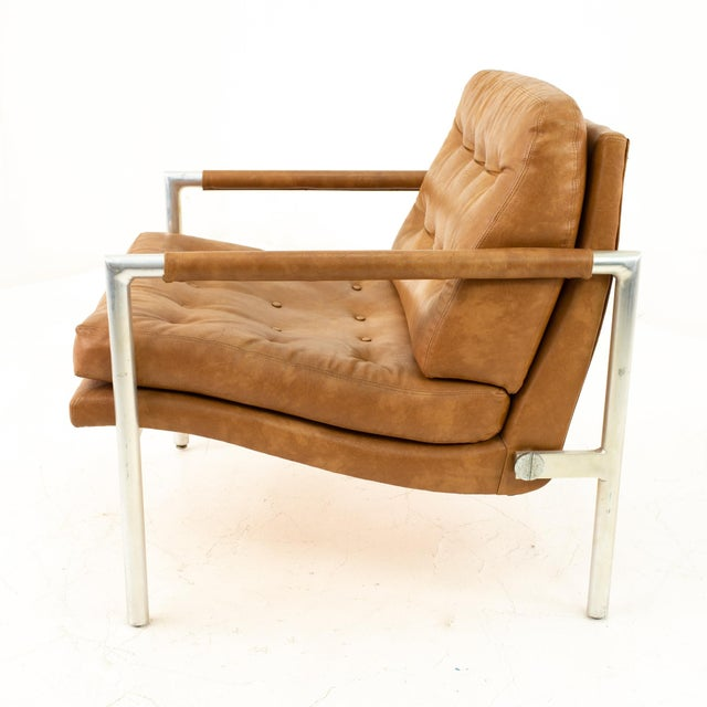 Brown Jack Cartwright for Founders Mid Century Lounge Chairs - Pair For Sale - Image 8 of 11