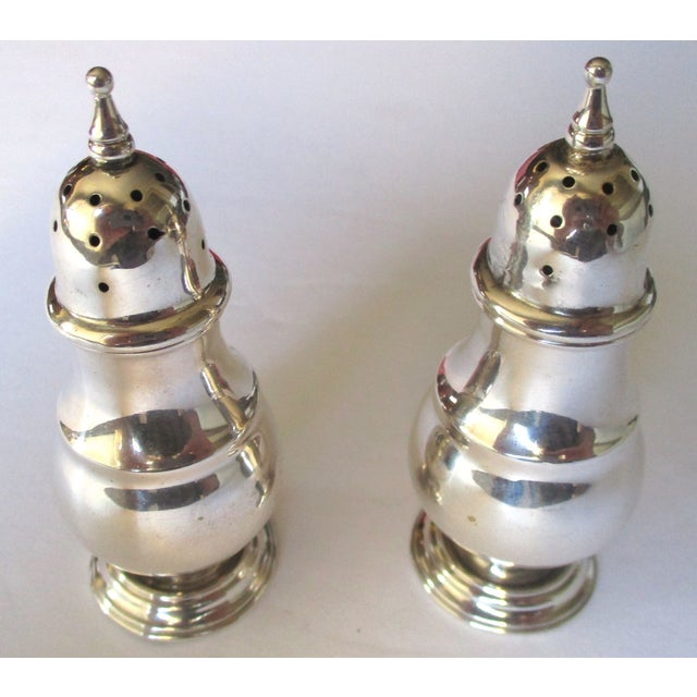 Sterling Silver Salt & Pepper Shakers - A Pair - Image 4 of 6