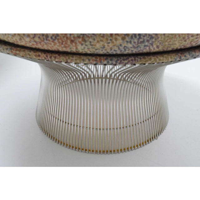 1970s Vintage Warren Platner Nickel Stools - a Pair For Sale In Dallas - Image 6 of 8