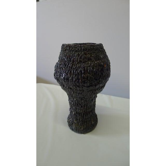 Black Organic Modern Vase For Sale - Image 8 of 8