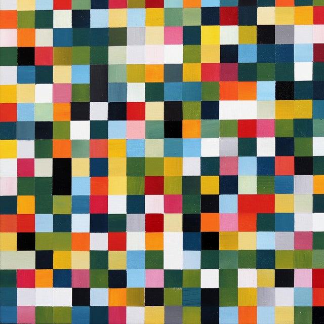 """1296 Squares"" Original Artwork by Brandon Neher For Sale - Image 4 of 9"