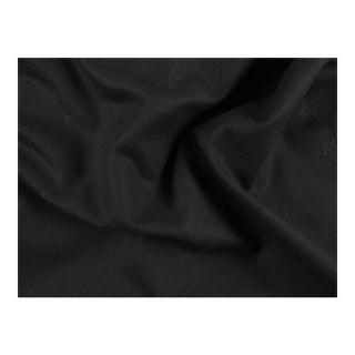 Black Berlin Wool Co. Designer Fabric, 3 Yards For Sale