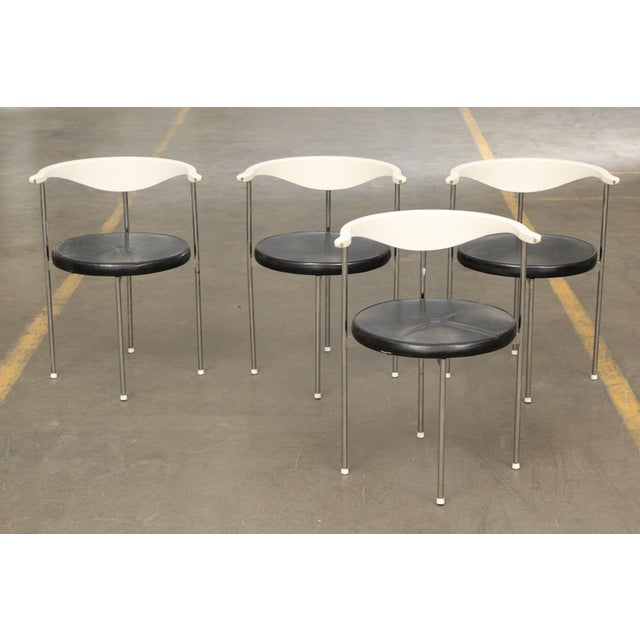 Frederik Sieck for Fritz Hansen Chairs - Set of 4 - Image 11 of 11