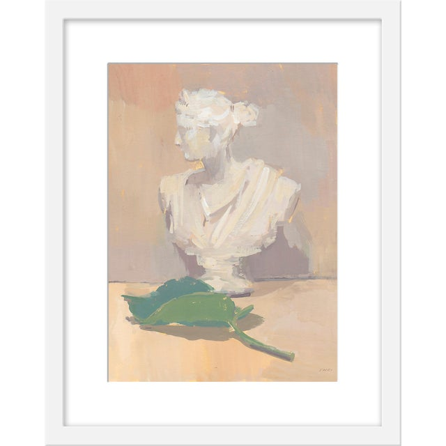"""Contemporary Small """"Leaf of Athena"""" Print by Michelle Farro, 16"""" X 20"""" For Sale - Image 3 of 3"""