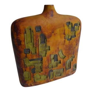 Marcello Fantoni Ceramic Vase for Raymor C. 1960s For Sale