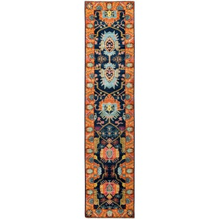 "Ansan, Eclectic Runner Rug - 2'9"" X 11'10 For Sale"