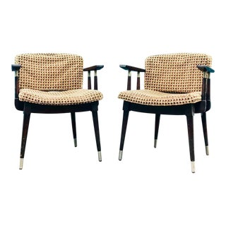 Vintage Mid Century Willett Chairs- a Pair For Sale