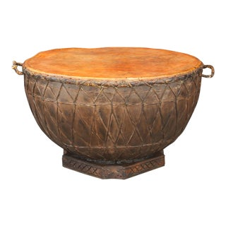 Antique Ranthambore Nagara Drum For Sale