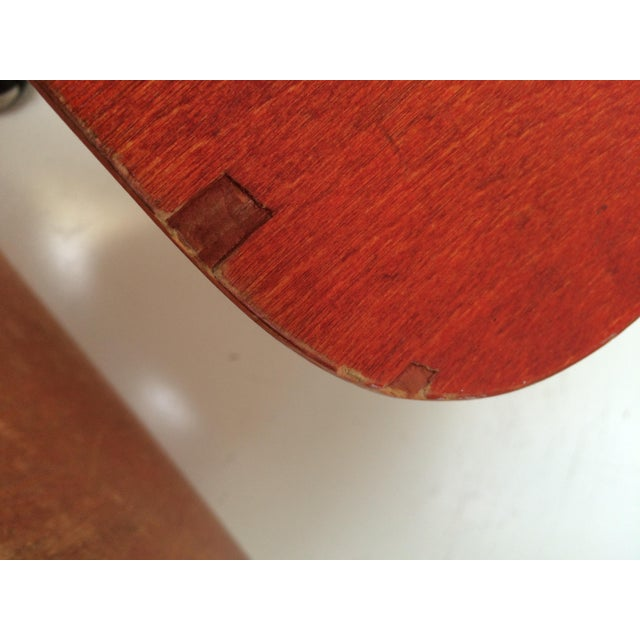 Herman Miller DCM Chair Red Aniline - Image 9 of 11