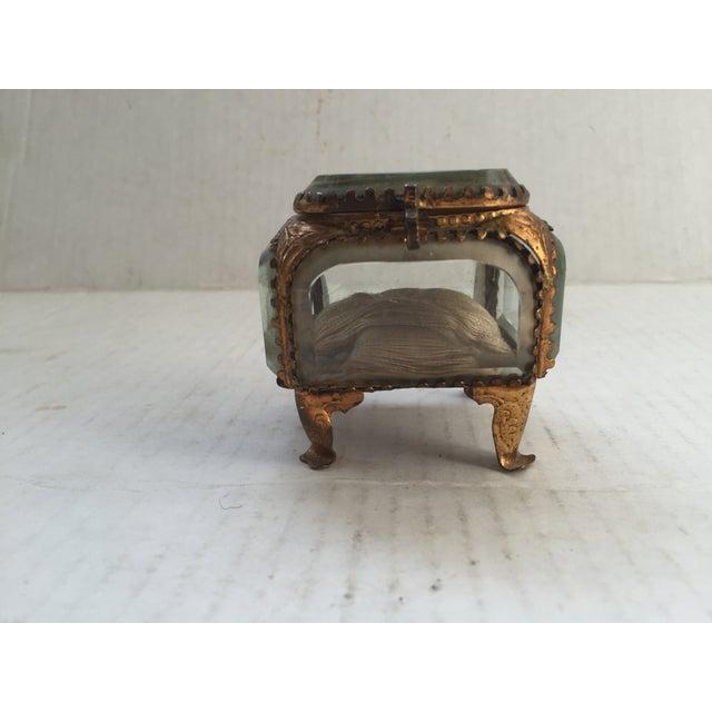 Antique Alsatian Souvenir Ring Box For Sale - Image 5 of 6