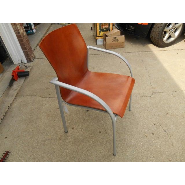 Harter Kion Midcentury Danish Molded Plywood Chair - Image 3 of 6