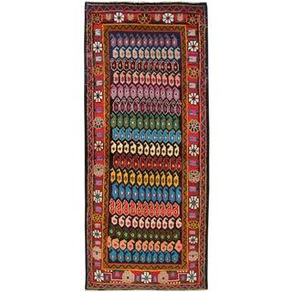 "Vintage Persian Hamadan Rug – Size: 3' 5""x 8"" For Sale"
