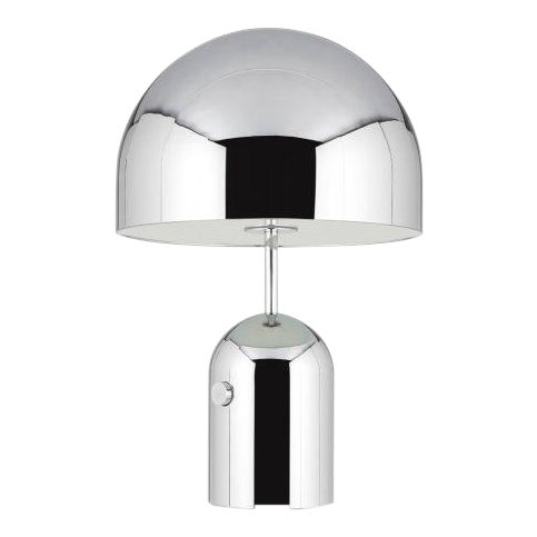 Tom Dixon Bell Table Lamp Large Chrome For Sale