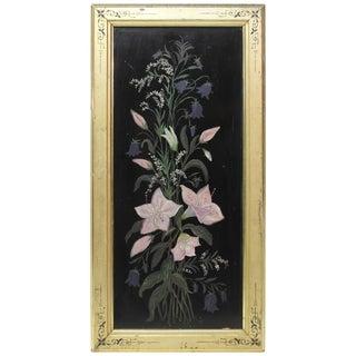 School of George Cochran Lambdin Late 19th Century Floral Still Life Oil on Boar For Sale