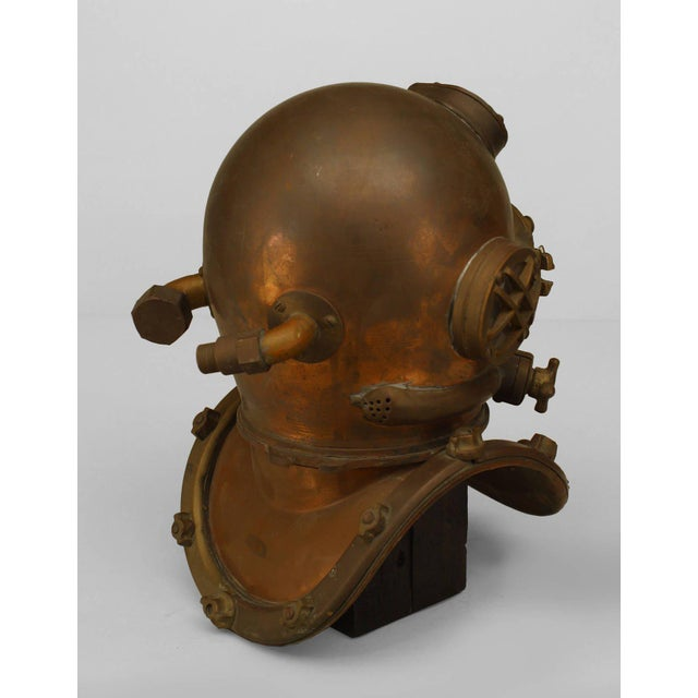 Mid-Century Modern 1/2 Scale Modle of a Diver's Helmet For Sale - Image 3 of 3