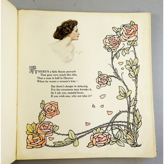 """A Book of Sweethearts"" 1908 Book For Sale - Image 11 of 11"