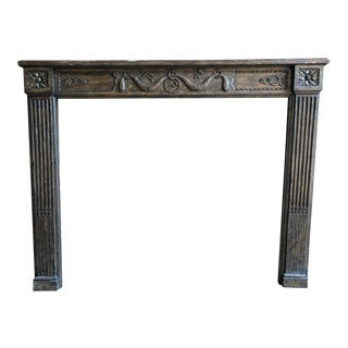 Louis XVI Style Fireplace Mantel For Sale